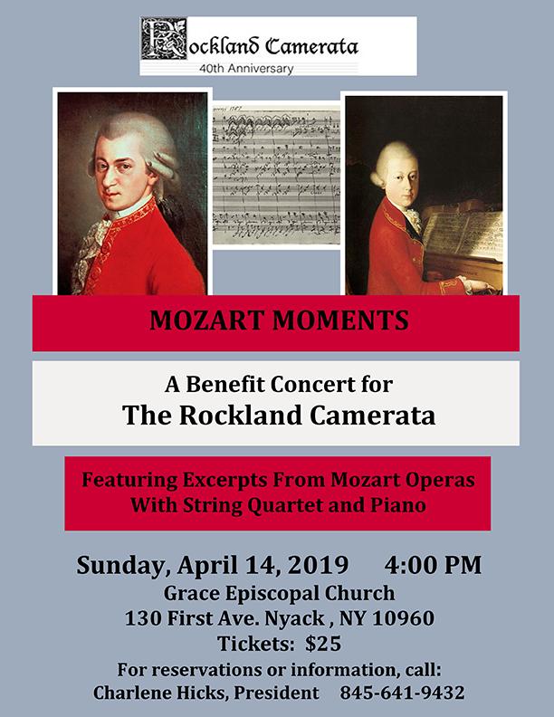 Mozart Moments benefit concert